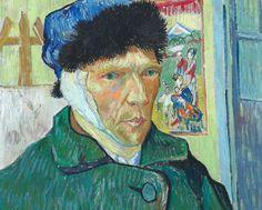 Vincent van Gogh, Self-Portrait with Bandaged Ear
