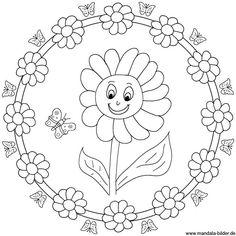 mandala drawing design easy tutorial coloring ideas Mandala Art, Design Mandala, Mandala Rocks, Mandala Drawing, Mandala Pattern, Zentangle Patterns, Embroidery Patterns, Coloring Book Pages, Coloring Sheets