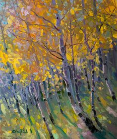 Autumn Brilliance • 24x20 inch oil • SOLD at Oh Be Joyful Gallery • Telluride, CO • © Gregory Packard