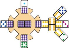 How to Play Chickenfoot Dominoes – Yellow Mountain Imports – Age Spots Games For Fun, Fun Card Games, Family Fun Games, Dice Games, Family Game Night, Games To Play, Night Kids, Class Games, Bingo Games