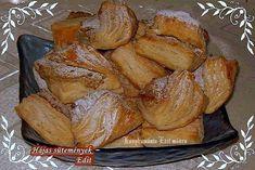 Hájas sütemény, nekem ez a recept bevált, Croissants, French Toast, Paleo, Pork, Cheese, Meat, Chicken, Baking, Breakfast