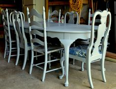Chalk Paint Info - Interesting since I am having a lot of the same issues/concerns/experiences using milk paint...