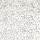 Lisette White/Steel Floral Curtain Fabric alternative image