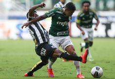 Dudu e Zé Roberto - Palmeiras 1x0 Santos - Allianz Parque - Campeonato Paulista (Final) 26/04/2015