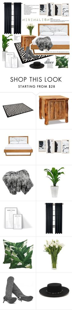 """Minimalism"" by vanjazivadinovic on Polyvore featuring interior, interiors, interior design, home, home decor, interior decorating, DutchCrafters, Royal Velvet, NDI and Anja"