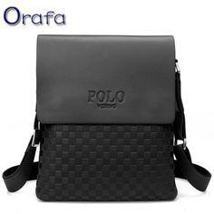 2016 dos homens do Polo mensageiro sacos crossbody para homens pequeno ombro sacos de viagem dos homens da marca de luxo designer de bolsas de alta qualidade