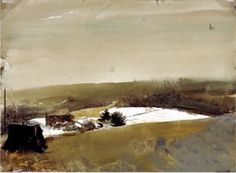 Andrew Wyeth Watercolor Paintings | Anna's House by Andrew Wyeth | Flickr - Photo Sharing!