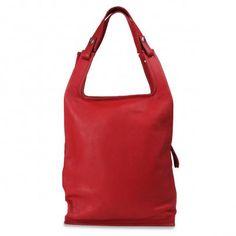 Supermarket bag L (red)