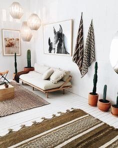 Pampa rugs, artworks, textiles, cushions in company of @popandscott sofa and lights ✨