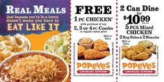 Popeyes Chicken Coupons Ends of Coupon Promo Codes JUNE 2020 ! Is chain the Miami, founded Popeyes headquarters was it In the is their. Kfc Coupons, Grocery Coupons, Online Coupons, Free Printable Coupons, Free Coupons, Free Printables, Dollar General Couponing, Popeyes Chicken, Coupons For Boyfriend