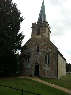 Steventon,Jane Austen's birthplace.