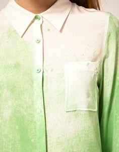 Asos silk shirt