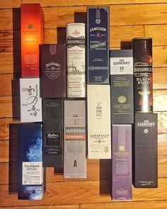 Boş kutuları atamamak gibi bir kötü bir huyum var (bkz Fırat 'bu bir işe yarar ki') Hele söz konusu her biri farklı hikayeler içeren rengarenk viski kutuları olunca işim iyice zor  Ancak 'biriktir biriktir nereye kadar' diyor ve bayram temizliği çerçevesinde kutularla vedalaşıyorum. Çöpe gitmeden önce son bir poz verdiler #viski #whisky #whiskey #singlemalt #bourbon #burbon #scotch #scotland #viskitadimi #maltingunu #meleklerinpayi #whiskyporn #whiskylove #whiskygram #InstaLike #InstaDram…