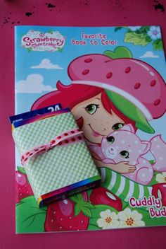 Strawberry shortcake birthday party! for a 5-6 year old!