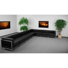Flash Furniture ZB-IMAG-SECT-SET4-GG HERCULES Imagination Series Sectional Configuration