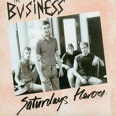 "The Business ""Saturdays (sic) Heroes"" essential #Oi"