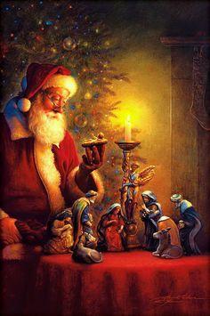FELIZ NATAL !!!  le vrai Noël « La Nativité»