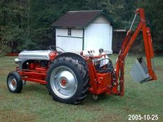 Case Garden Tractors P.F. Engineering specializes in Backhoe plans and Front End…