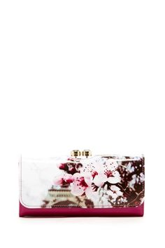 Ted Baker Vappu Checkbook Wallet
