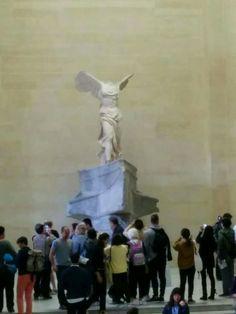 Nike of Samothrace, Louvre Museum, Paris.