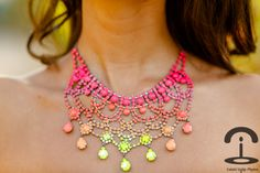 Crimenes de la Moda: DIY Neon Strass Necklace