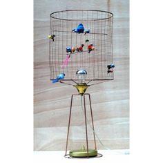 Bird cage lamp, I want one! Bird Cage, Scandinavian Design, Modern Design, House Styles, Inspiration, Interiors, Top, Biblical Inspiration, Contemporary Design