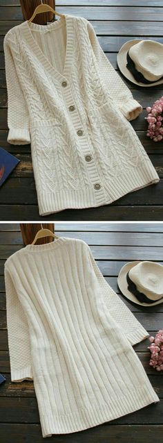 Are you looking for a long sweater cardi with new style? We have well prepared i… Are you looking for a long sweater cardi with new style? We have well prepared it for you. Our sweaters are always of high… Continue Reading → Fall Outfits, Cute Outfits, Fashion Outfits, Womens Fashion, Fashion Clothes, Cardigan Long, Sweater Cardigan, Looks Country, Vetements Clothing
