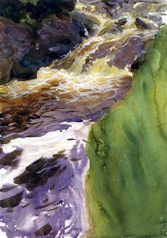 bofransson:  Rushing Water John Singer Sargent - 1901
