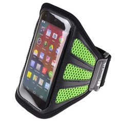 SumacLife Workots Sports GYM Running Armband for LG D820 Google Nexus 5 LG Nexus 4 (Green-Mesh). SumacLife custom made neoprene armband for your device / LG Nexus 5 LG Nexus 4 LG Optimus F7 LG Optimus L9 and more LG Smartphone. Case dimension: 6.3×0.5× 3.8 inch.Note :Please check your device dimension whether suit this case before purchasing. Adjustable Armband gives you the versatility of carrying your device in a variety of ways. Provides protection and prevents scratches, chips and…