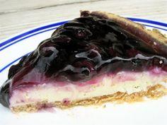 No Bake Fluffy Blueberry Cheesecake / Six Sisters' Stuff | Six Sisters' Stuff