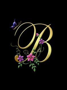 alphabet B hd Wallpaper
