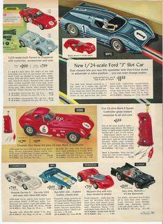 Vintage sears slot car sets housse ski roulette decathlon