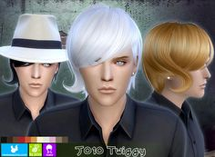 Cool male hair style for The Sims 4