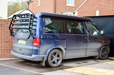 The family bus.....our beloved VW T5 California