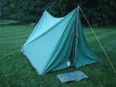 Vintage Official Boy Scout Canvas Voyager tent & Boy Scout Wall Tent Canvas | Tents and Wall tent