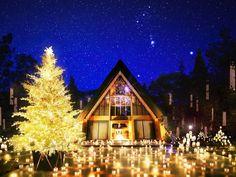 軽井沢高原教会の「クリスマスキャンドルナイト」がとてもロマンチック♡
