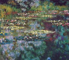 All sizes | Claude Monet - The Water Lily Pond, 1904 at Denver Art Museum - Denver Colorado | Flickr - Photo Sharing!
