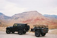 Jeep Wrangler with Trailer