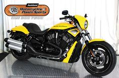 2011 HARLEY DAVIDSON VRSCDX in Flamed Yellow  At Auckland Motorcycles & Power Sports,   New Zealand www.amps.co.nz
