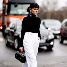 Best Paris Fashion Week Street Style Fall 2017