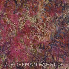 Hoffman Bali Batik Italian Marble Blooms K2483-562