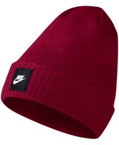 28fefaac67309 Nike Men s Futura Ribbed-Hem Beanie - Pink