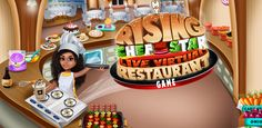 Open your in this and cook delicious meals, desserts from all over the world & become a top chef. Delicious Meals, Yummy Food, Free Games For Kids, Cooking Games, Restaurant, App, Play, Stars, Birthday