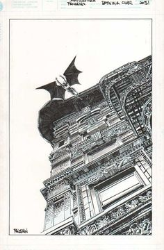 Batwing #31 Cover by Dan Panosian