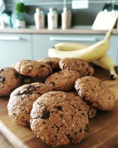 Cookies μπανάνα με βρώμη και μέλι συνταγή Healthy Sweets, Healthy Recipes, Sweet Cookies, Cookie Recipes, Healthy Life, Food To Make, Cupcake Cakes, Sweet Tooth, Recipies