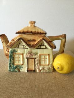 Cottage Ware Tea Pot Made in England by PineStreetPickers