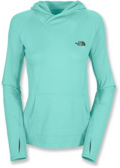 the north face chamois hoodie - love the thumb holes too!