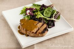 Andrea Meyers - Maple Mustard Pork Chops - This has a great marinade!