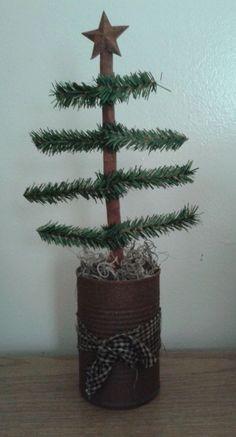 Primitive Christmas Tree #NaivePrimitive