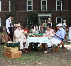 Jazz Age Lawn Party, Governors Island - one of the best Saturday's I've ever had! What a great party. [Sponsored by St. Germian]